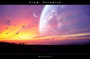 From Paradise by steve-o-mac