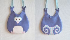 Penguin or Owl Bag New Version by vannesdesigns