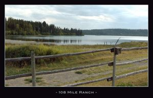 Fence by Lake by essey