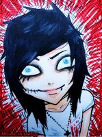 knives and pens by MissBaconAndEgg
