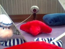 SELF PORTAIT - of a Webcam by ollj