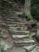 Stone Stairs by WhiteWolf0604