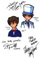 DC - English Cast Autographs 2 by skyechan