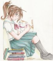 school girl 3 by Palmares
