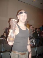 Riddick at NY ComicCon 2 by ajb3art