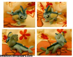 Chibi pm Sale CM: Vaporeon by Swadloon