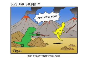 Time Paradox by Size-And-Stupidity
