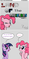 Comic: Land of the ludicrous! (Visit 1) by Photonicsoup