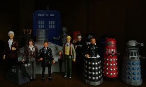 Dapol Dr Who Collection so far by Police-Box-Traveler