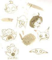 Flapjack doodles 2 by a-song-unsung