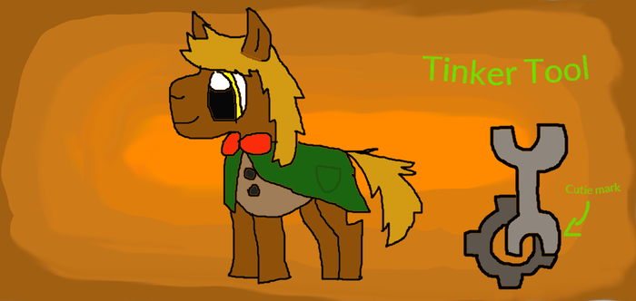 Tinker Tool =PONY OC= by SteamCog101