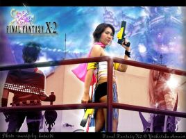 FFX2 photoshoot: Yuna by kasaikun16