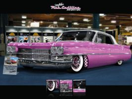 The Pink Caddy by V8-Custom-Designs