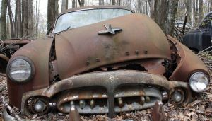 old rusty packard by aila-art