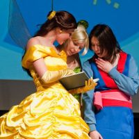 Belle, Tinker and Mulan by MysteriousMaemi