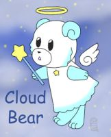 Cloud Bear by MuseWhimsy
