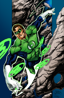 Green Lantern  by peter vale by NayMoon