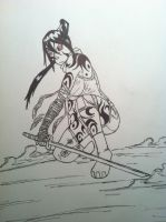 tsubaki, the cursed sword by TheReaper111