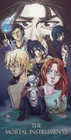 The Mortal Instruments by whitespirit