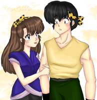 Ryoga and Ukyo - Matching by AngieSan