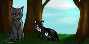 :CO: Mentor and Apprentice by PsychtehWolf