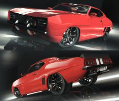 Camaro 69 ss customize wip 3 by MAKS-23
