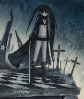 Black Rock Shooter by Yytru