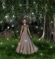 Woodland Fairy by Nianya