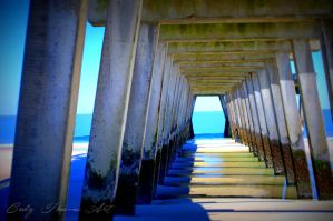 A Distance in View: Under the Pier by GlennThomasi6