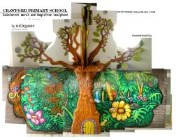 Crawford PrimarySchool Mural2 by mORGANICo-cOM
