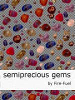 Semiprecious Gems by Fire-Fuel