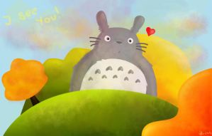 Totoro by aworldofimagination