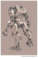 Robot Design by metalkid