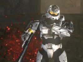 My Halo 3 Character by kcdude