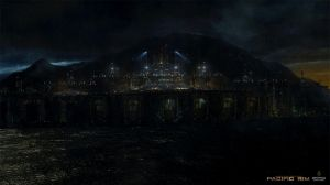 Pacific Rim, The Shatterdome by Akajork