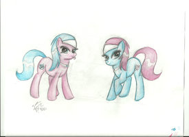 Spa Twins - Lotus and Aloe by celestial-lights