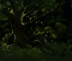 Fairy tree by Enshi-D