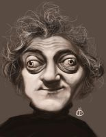 Marty Feldman sketch by Jubhubmubfub