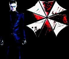 Albert Wesker Wallpaper 4 Gabytolija by Kijuju8