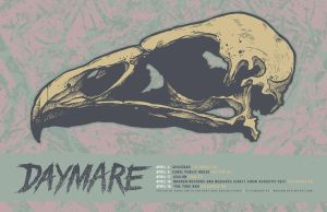 DAYMARE POSTER AND LOGO by BURZUM