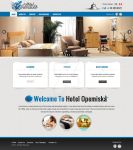 Hotel Opemiska website design by acelogix