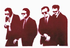 stencil- Reservoir Dogs by abcartattack
