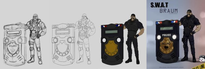 Riot Braum WIP by iBralui