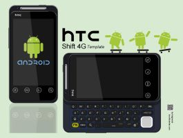HTC SHIFT 4G -knight by hsigmond