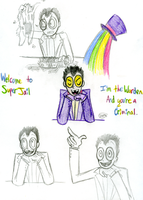 SJ: Welcome to Super Jail by DemonicSora