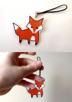 Cute Little Fox Charm by Sacari