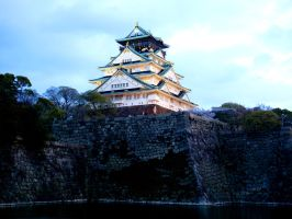 Osaka Castle by MColling