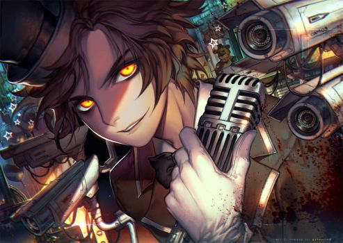 Come spend five nights with me by kawacy