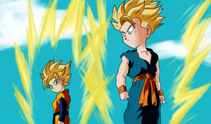 Goten and Trunks by CoreasDesing