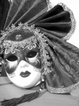 Theatre mask by ravenmosher
